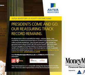 Aviva Investors - Money Marketing Financial Services awards for Business Campaign of the Year